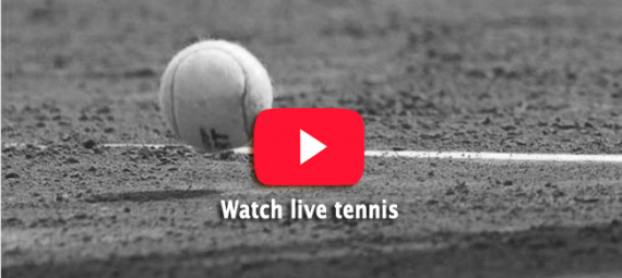 Watch live tennis at bet365